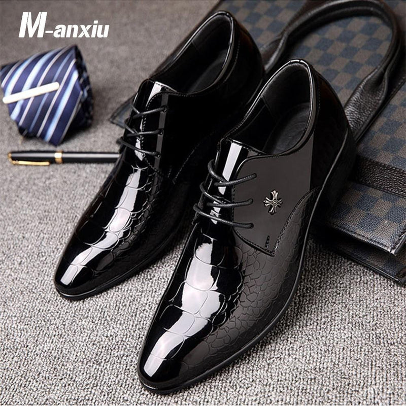 Pointed Toe Business Shoes