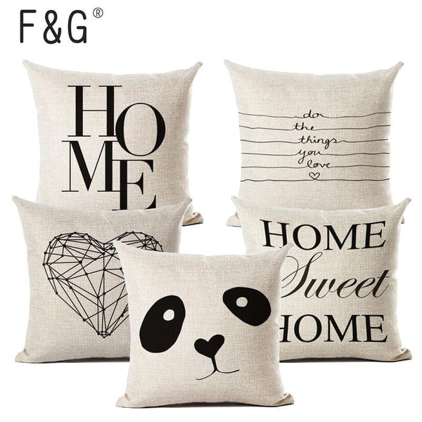 Letter Cushion Covers - The Emporio Originals