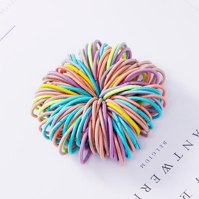 100PCS/Lot Candy Colors Rubber Bands - The Emporio Originals