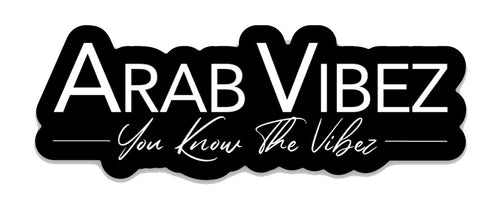 Arab Vibez Logo Sticker
