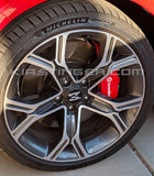 "Genuine 4 Kia Stinger OEM ""E"" 18 Inch Wheel Center Caps"