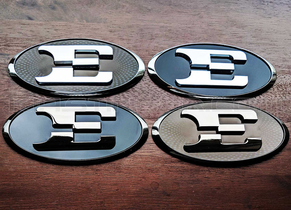 Oval E Badge for Front or Rear