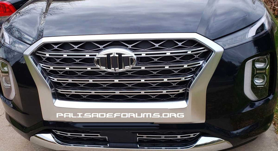 BRENTHON Emblem Set for Hyundai Palisade