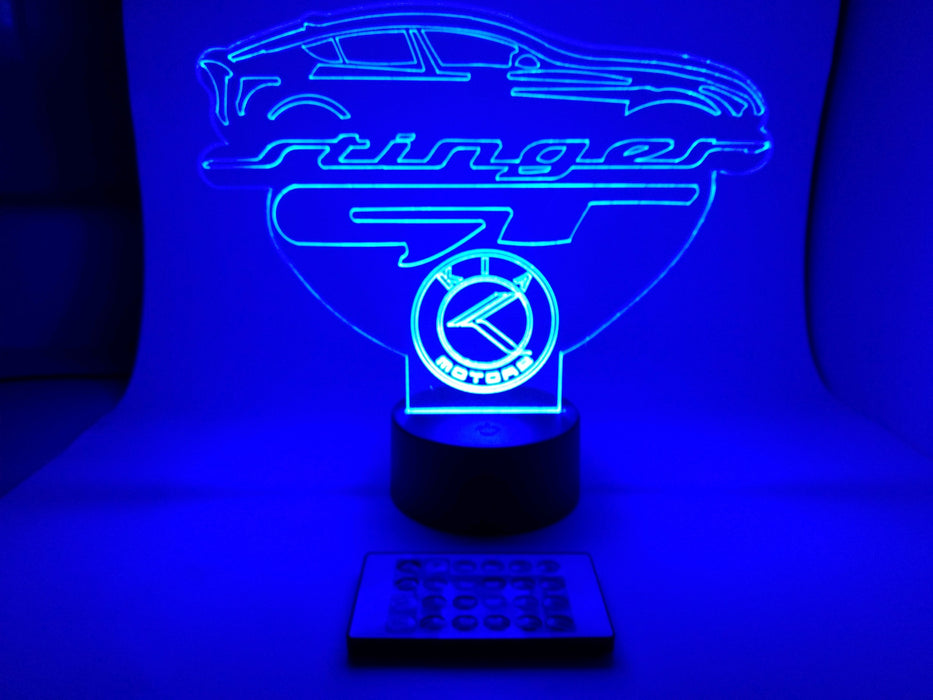 Kia Stinger LED Desktop Light and USB Hub – 17 Colors