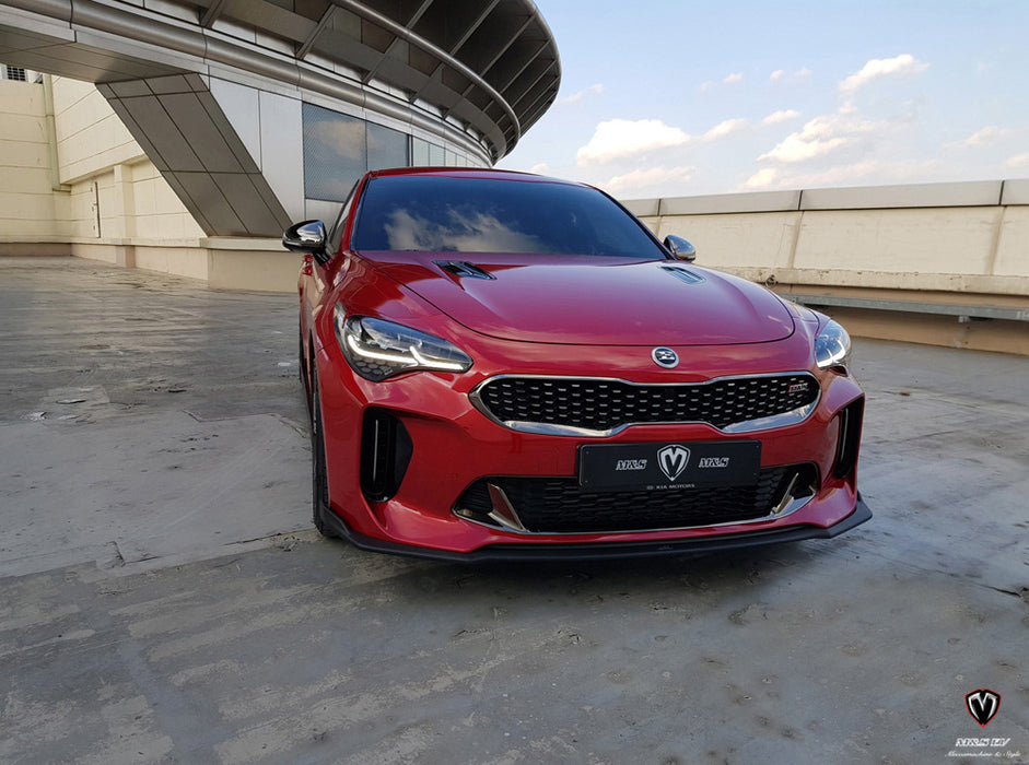 M&S Front Splitter for 2018+ Kia Stinger