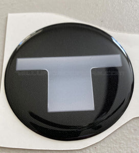 """Big T"" Wheel Center Cap Overlay Set for the KIA Telluride"