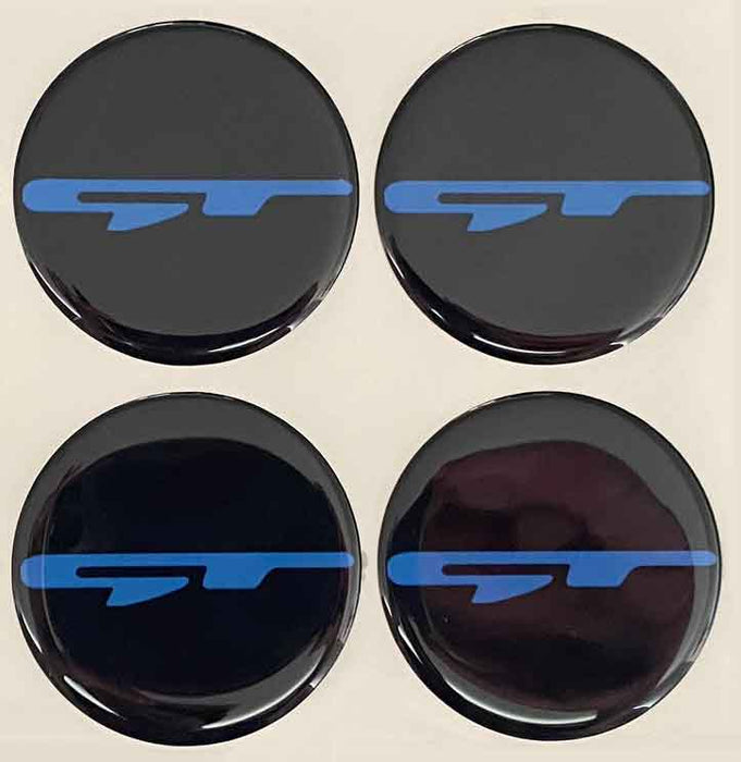 GT Wheel Center Cap Overlays