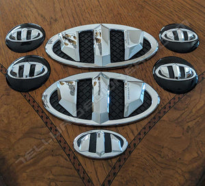 BRENTHON Emblem Set for Kia Telluride and Sorento