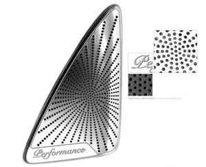 Burmester Style Stainless Steel Palisade Door Speaker Covers