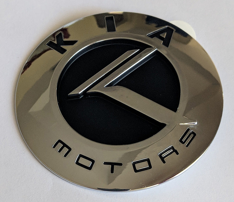 OEM Kia Motors Badge in Chrome
