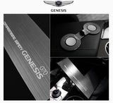 Genesis Aluminum Console Cup Holder 4 Piece Set