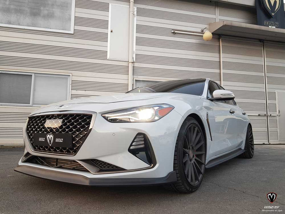M&S Front Splitter for Genesis G70