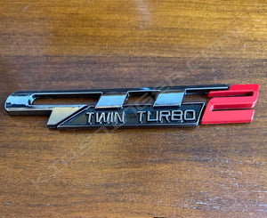 GTT2 Twin Turbo Badge