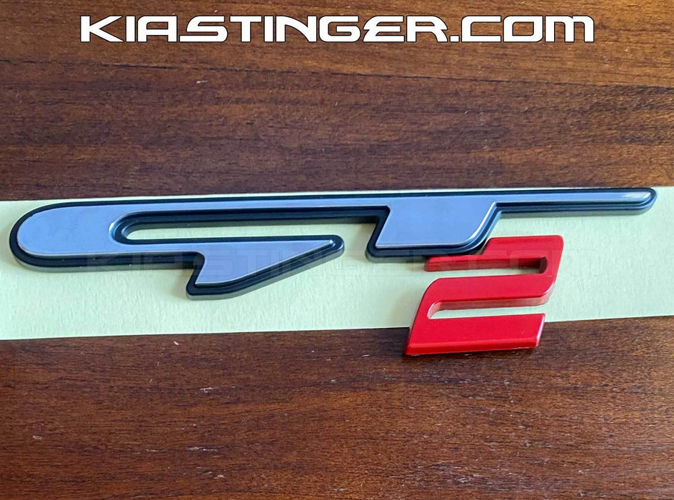 OEM Kia Stinger GT and GT2 Badge/Emblem