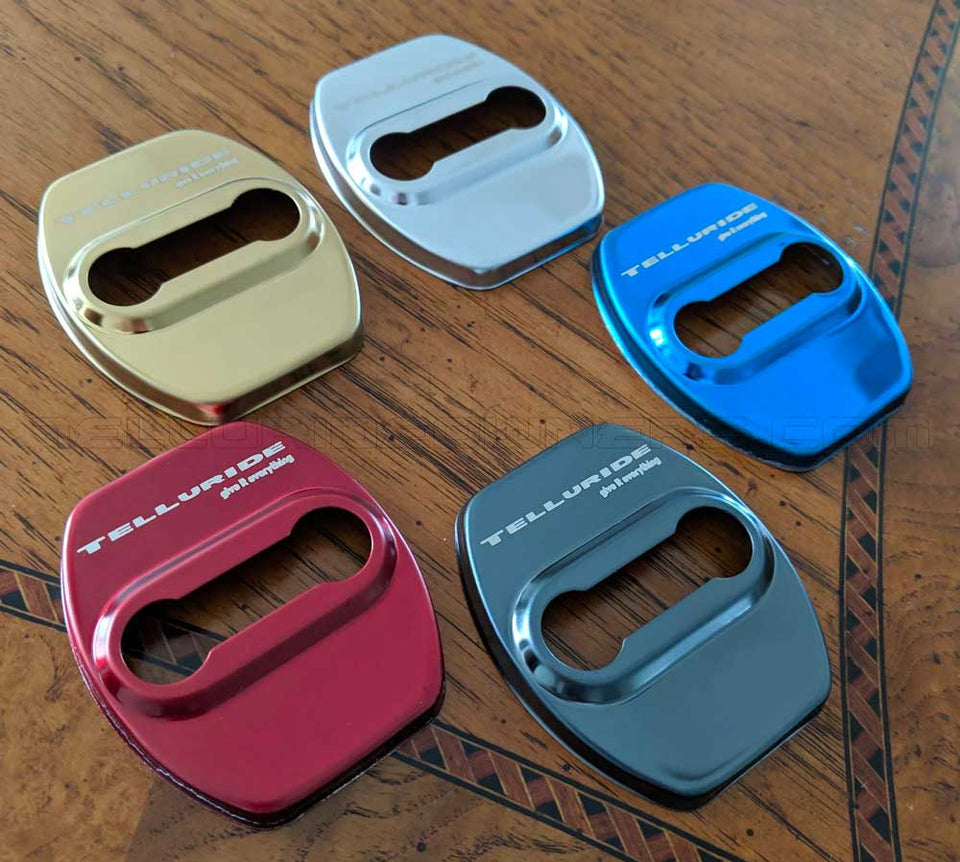 Designer Door Striker Cover Sets