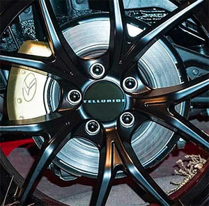 "Kia ""TELLURIDE"" Wheel Center Cap Overlay Set"