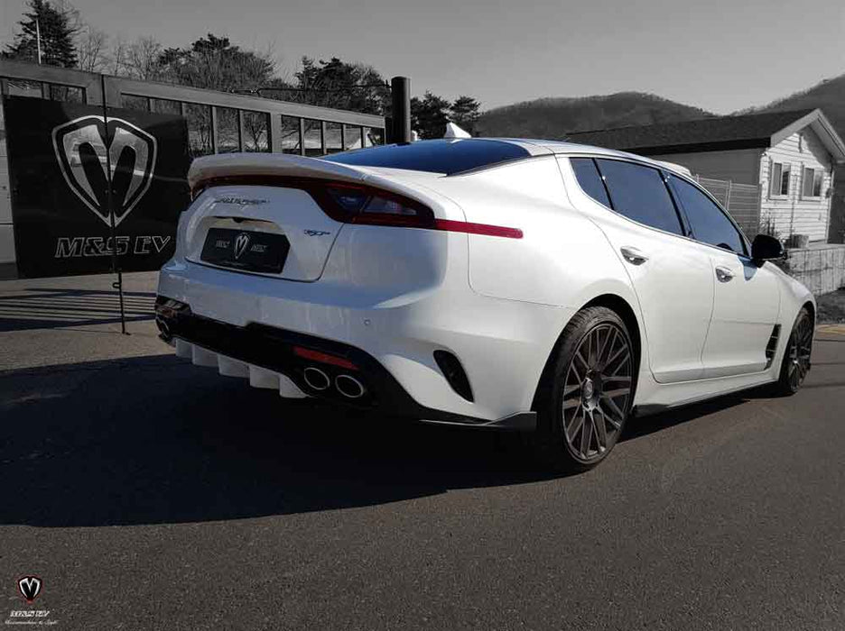 M&S Rear Diffuser for 2018+ Kia Stinger GT