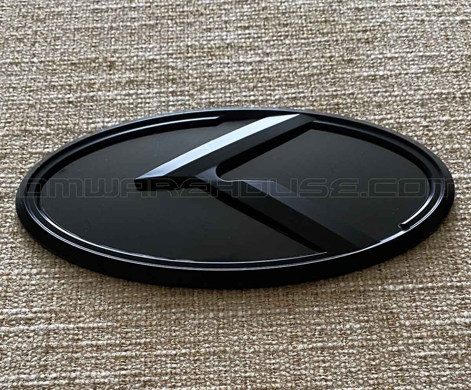 Kia 3.0 KLexus Front or Rear Badges and Emblems (Black w/Black)