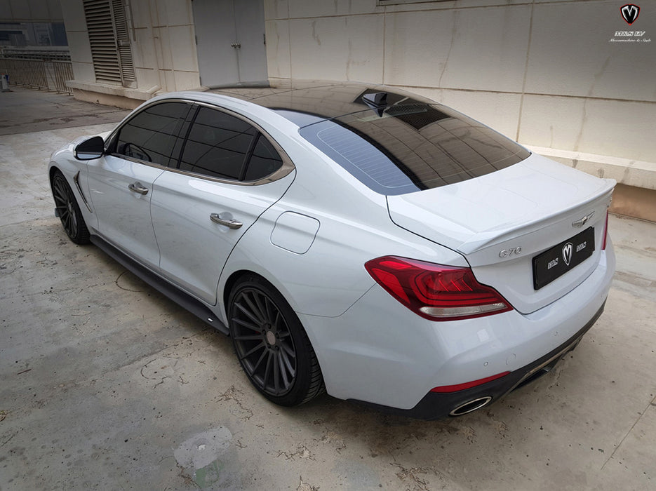 M&S Rear Trunk Lip Spoiler for 2018+ Genesis G70