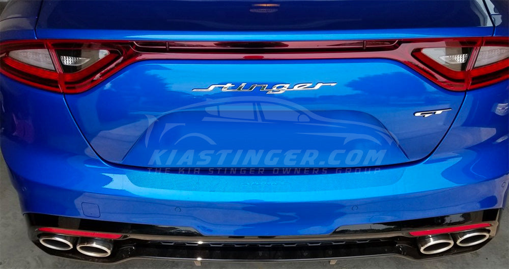 Genuine OEM Kia Stinger Badge Chrome or Carbon Fiber