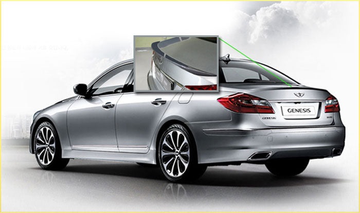 M&S Trunk Lip Spoiler for Hyundai Genesis Sedan BH 2009-2014
