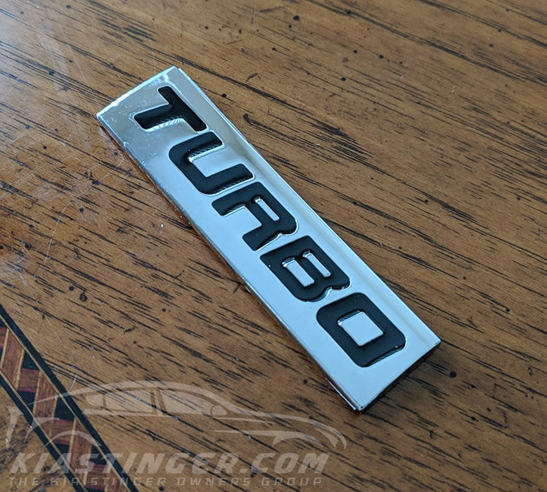 Turbo / Twin Turbo / Boosted Badges and Emblems