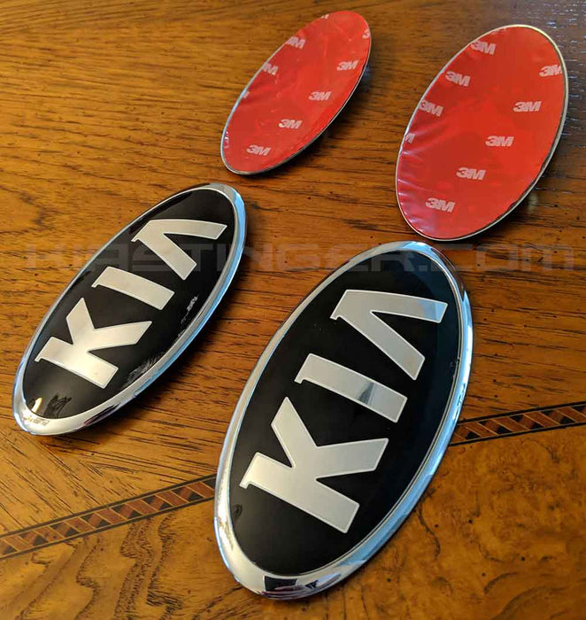 OEM Design Vintage K Metal Skins Front and/or Rear Badge/Emblem Overlays