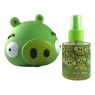 Angry Birds King Pig By Air Val International Cologne Spray 3.4 Oz & Coin Bank