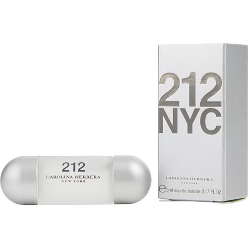 212 By Carolina Herrera Edt .17 Oz Mini