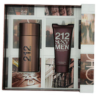212 Sexy By Carolina Herrera Edt Spray 3.4 Oz & Aftershave Balm 3.4 Oz