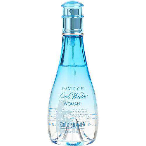 Cool Water Exotic Summer By Davidoff Edt Spray 3.4 Oz *tester