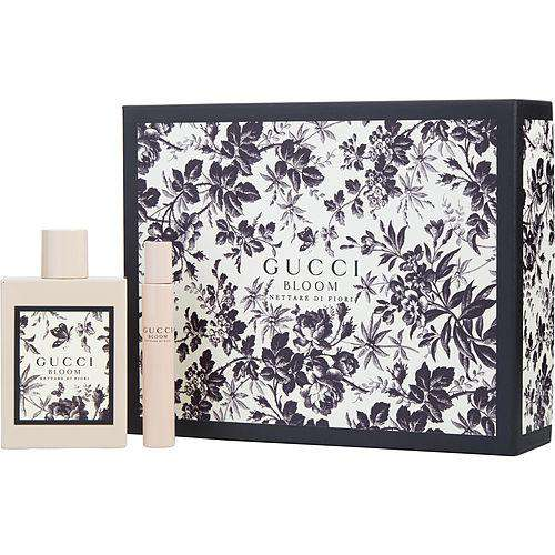 Gucci Bloom Nettare Di Fiori  Eau De Parfum Intense Spray 3.3 Oz & Eau De Parfum Intense Rollerball .25 Oz Mini