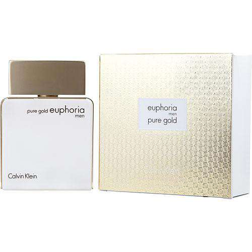 Euphoria Pure Gold By Calvin Klein Eau De Parfum Spray 3.4 Oz