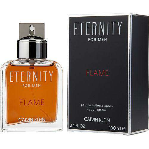 Eternity Flame By Calvin Klein Edt Spray 3.4 Oz