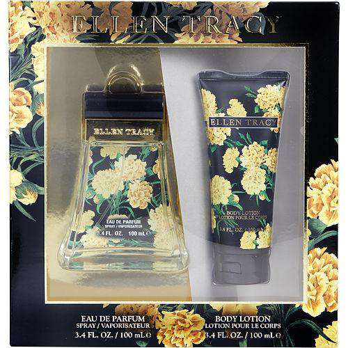 Ellen Tracy Inspiring By Ellen Tracy Eau De Parfum Spray 3.4 Oz & Body Lotion 3.4 Oz