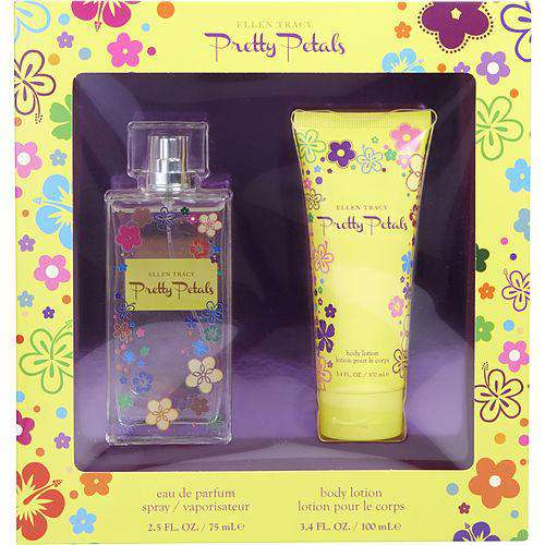 Ellen Tracy Pretty Petals By Ellen Tracy Eau De Parfum Spray 2.5 Oz & Body Lotion 3.4 Oz