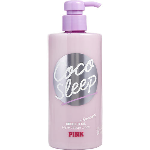 Victoria's Secret Pink Coco Sleep Coconut & Lavender Oil Body Lotion 14 Oz