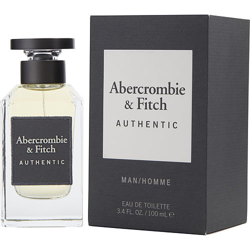 Abercrombie & Fitch Authentic Edt Spray 3.4 Oz