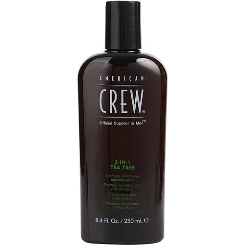 American Crew By American Crew 3 In 1 Tea Tree (shampoo, Conditioner, Body Wash) 8.4 Oz