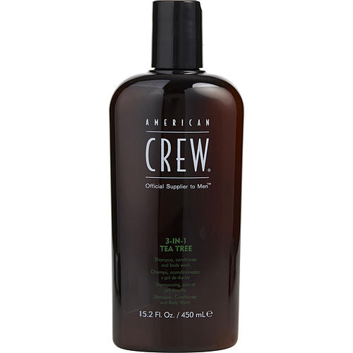 American Crew By American Crew 3 In 1 Tea Tree (shampoo, Conditioner, Body Wash) 15.2 Oz