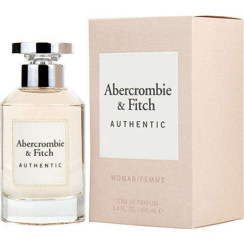 Abercrombie & Fitch Authentic Eau De Parfum Spray 3.4 Oz