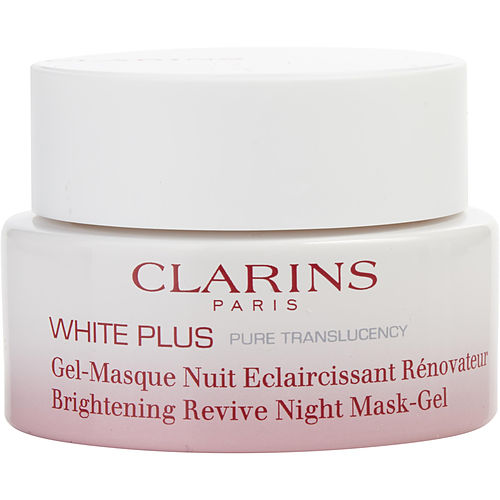 Clarins By Clarins White Plus Pure Translucency Brightening Revive Night Mask Gel --50ml-1.7oz