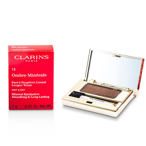 Clarins By Clarins Ombre Minerale Smoothing & Long Lasting Mineral Eyeshadow - # 13 Dark Chocolate --2g-0.07oz