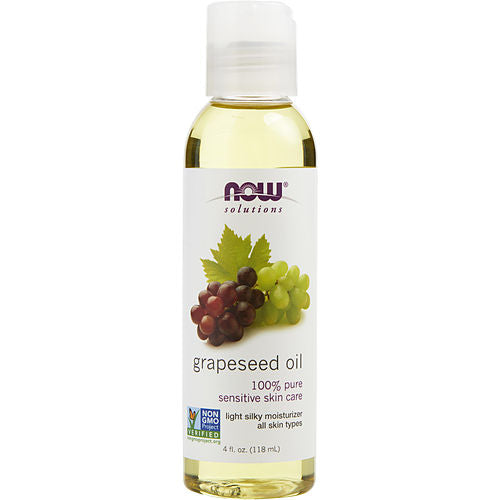 Essential Oils Now By Now Essential Oils Grapeseed Oil 100% Pure Sensitive Skin Care 4 Oz