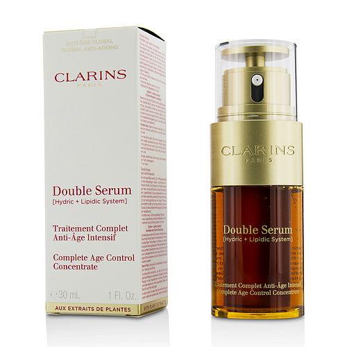 Clarins By Clarins Double Serum (hydric + Lipidic System) Complete Age Control Concentrate --30ml-1oz