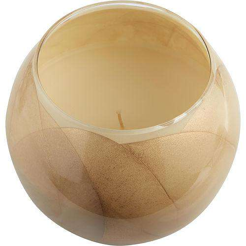 Ivory Candle Globe By Ivory Candle Globe The Inside Of This 4 In Polished Globe Is Painted With Wax To Create Swirls Of Gold And Rich Hues And Comes In A Satin Covered Gift Box...