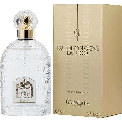 Du Coq By Guerlain Eau De Cologne Spray 3.3 Oz
