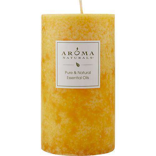 Relaxing Aromatherapy By Relaxing Aromatherapy One 2.75 X 5 Inch Pillar Aromatherapy Candle.