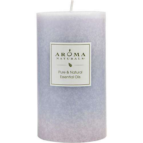 Tranquility Aromatherapy By Tranquility Aromatherapy One 2.75 X 5 Inch Pillar Aromatherapy Candle.