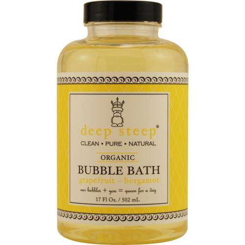 Deep Steep By Deep Steep Grapefruit-bergamot Bubble Bath 17 Oz